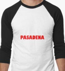 Pasadena GILL NOVA BOLD RED Baseball ¾ Sleeve T-Shirt