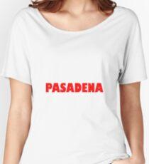 Pasadena GILL NOVA BOLD RED Relaxed Fit T-Shirt
