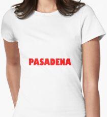 Pasadena GILL NOVA BOLD RED Fitted T-Shirt