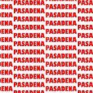 Pasadena GILL NOVA BOLD RED by MistahWilson