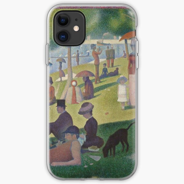 A Sunday Afternoon on the Island of La Grand Jatte by Georges Seurat iPhone Soft Case