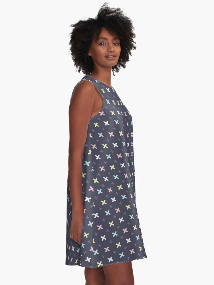 Alternate view of CMYK -  A-Line Dress