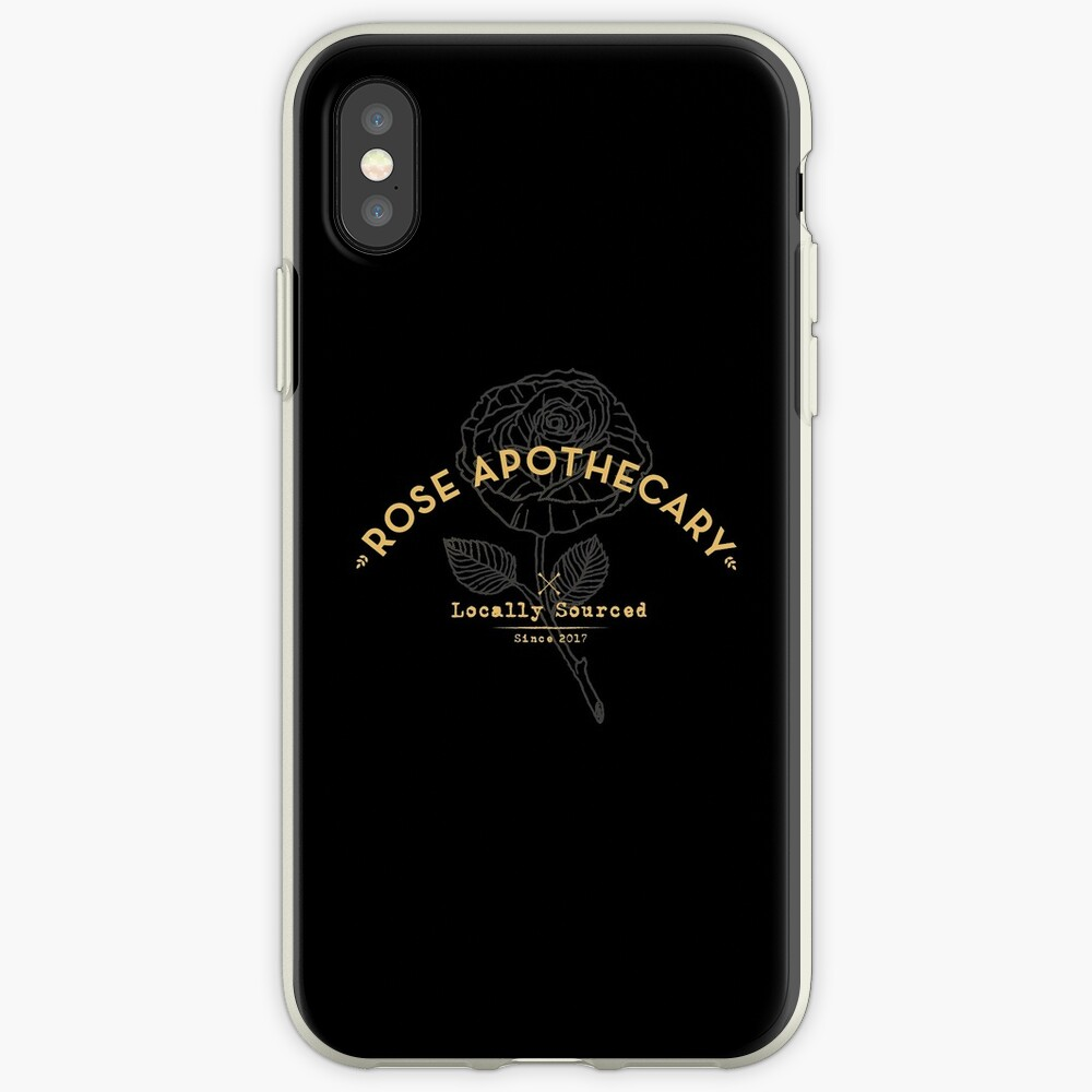 Dark Rose Apothecary iPhone Case & Cover