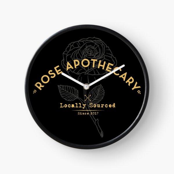 Dark Rose Apothecary Clock
