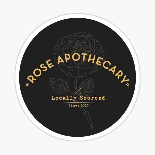 Dark Rose Apothecary Sticker