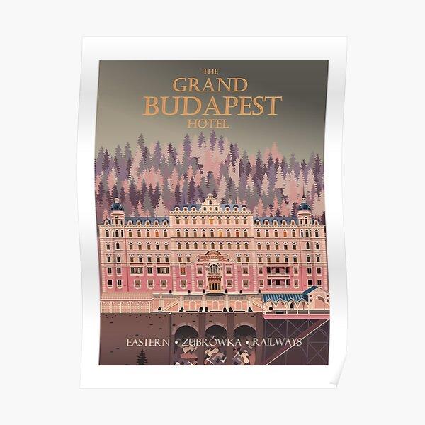 Affiche de voyage pour le Grand Budapest Hotel Poster