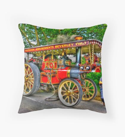 Taking on Water.HDR Throw Pillow