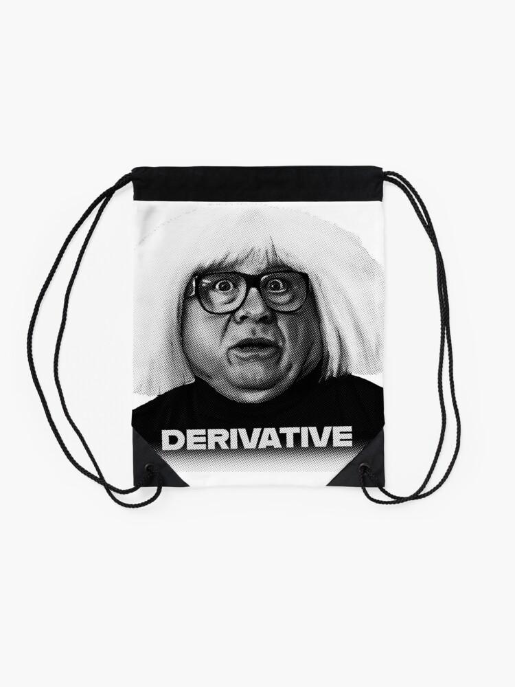 Alternate view of Ongo Gablogian - Derivative Drawstring Bag
