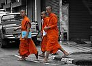 Mobile Monks by Lois Romer