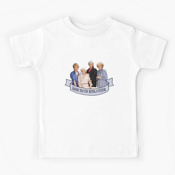 thank you for being a friend Camiseta para niños
