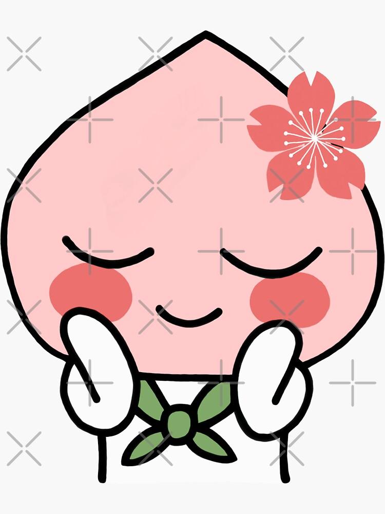 Sakura Apeach - Kakao Friends Apeach de smileyfriend