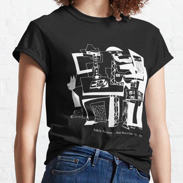 Pablo Picasso Three Musicians 1921, Artwork, Reproduction Classic T-Shirt