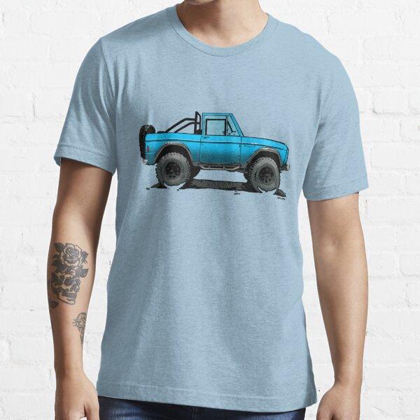 Bronco - Topless Blue Essential T-Shirt