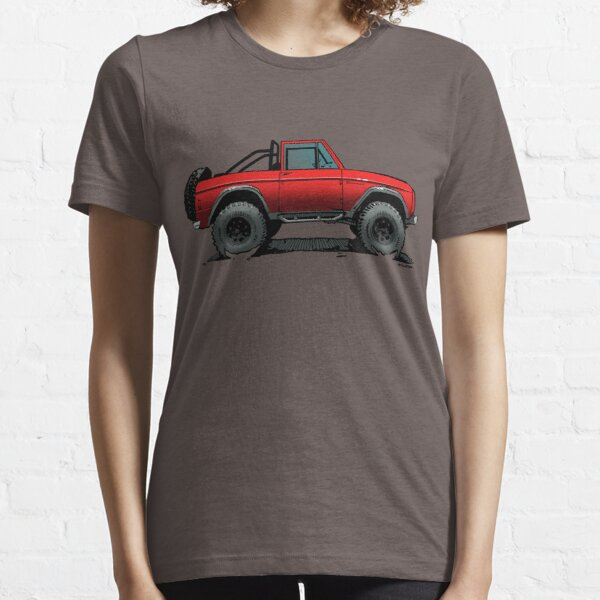 Bronco - Topless Red Essential T-Shirt