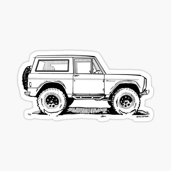 Bronco - X-Cab Classic Sticker