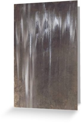 Raw Umber in the Rain by Leila A. Fortier