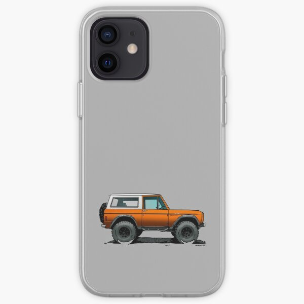 Bronco - X-Cab Orange iPhone Soft Case