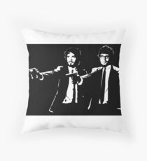 Flight of the Fiction Throw Pillow