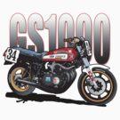 Wes Cooley Suzuki GS 1000 by Steve Harvey