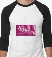 Allen Avenue1, Pasadena, California by MWP Baseball ¾ Sleeve T-Shirt