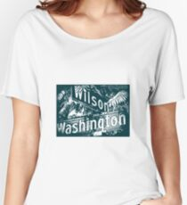 Wilson Avenue & Washington Boulevard1, Pasadena, CA by MWP Relaxed Fit T-Shirt