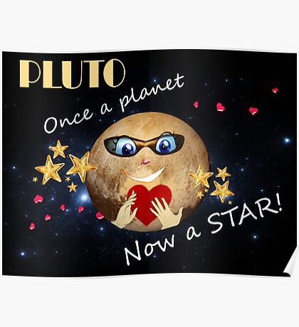 Pluto's Promotion Poster