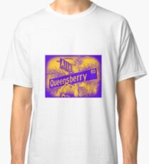 Allen Avenue & Queensberry Road, Pasadena, CA by MWP Classic T-Shirt