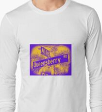 Allen Avenue & Queensberry Road, Pasadena, CA by MWP Long Sleeve T-Shirt
