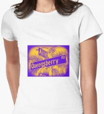 Allen Avenue & Queensberry Road, Pasadena, CA by MWP Fitted T-Shirt