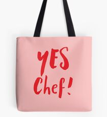 YES CHEF! Tote Bag