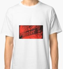 Painter Street1, Pasadena, CA by MWP Classic T-Shirt