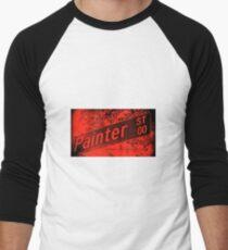 Painter Street1, Pasadena, CA by MWP Baseball ¾ Sleeve T-Shirt