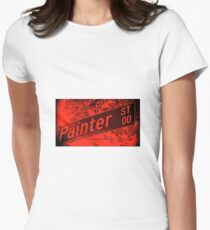 Painter Street1, Pasadena, CA by MWP Fitted T-Shirt