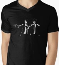 Flight of the Fiction ( T SHIRT VERSION OF DESIGN ) Men's V-Neck T-Shirt