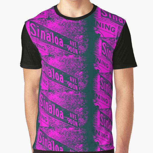 Sinaloa Avenue1, Pasadena, CA by MWP Graphic T-Shirt