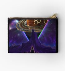 Summon the Future - Synthwave Blade Runner Future Zipper Pouch