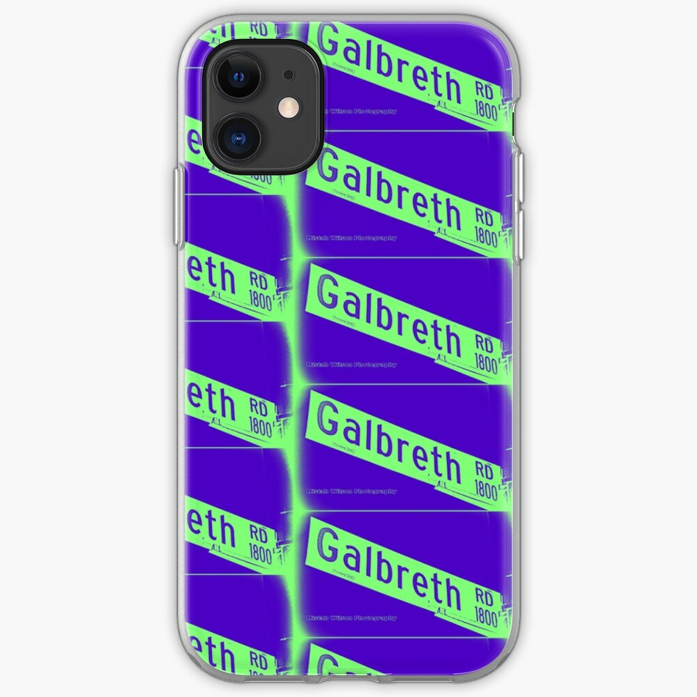 Galbreth Road, Pasadena, CA by MWP iPhone Case & Cover