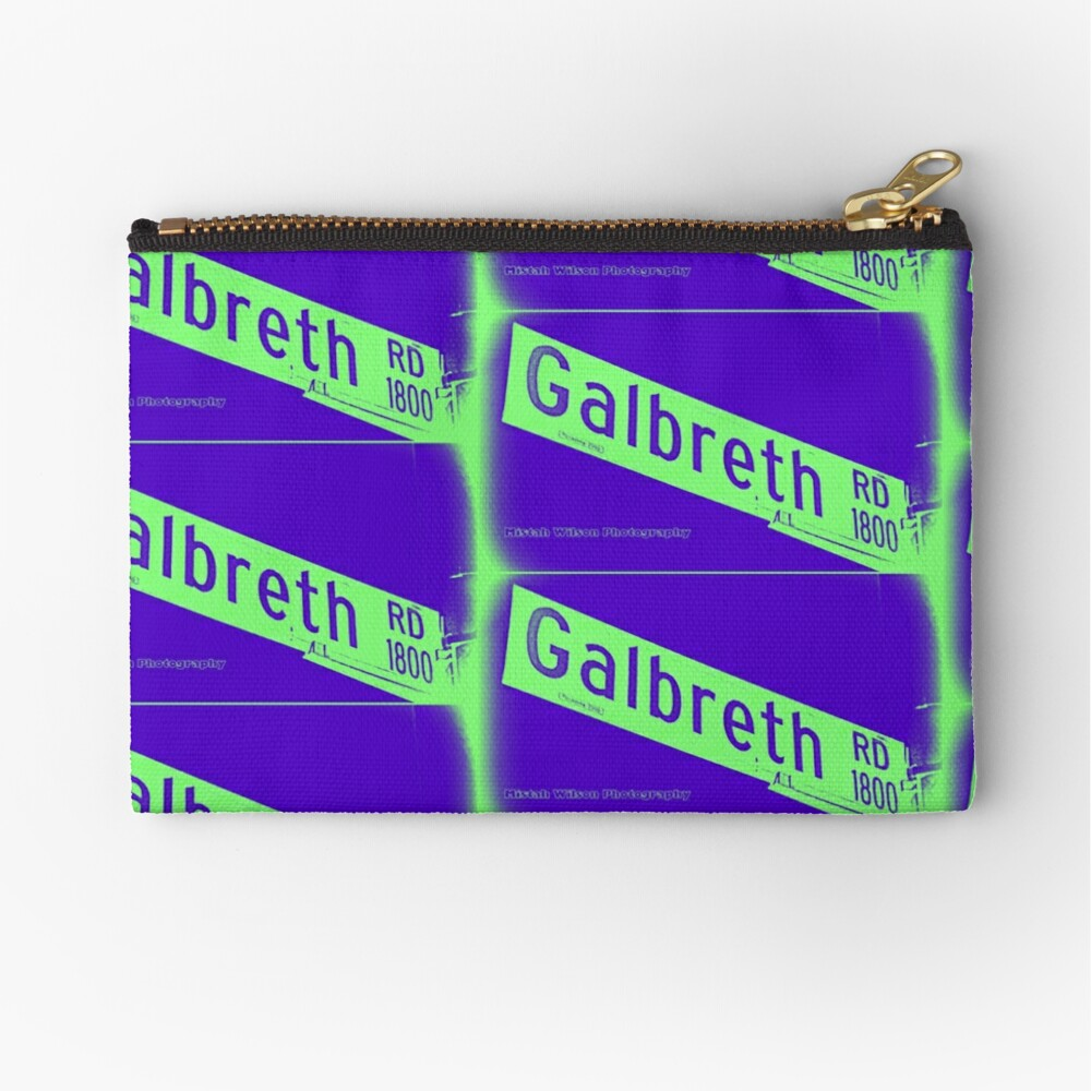 Galbreth Road, Pasadena, CA by MWP Zipper Pouch