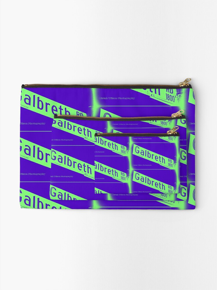 Alternate view of Galbreth Road, Pasadena, CA by MWP Zipper Pouch