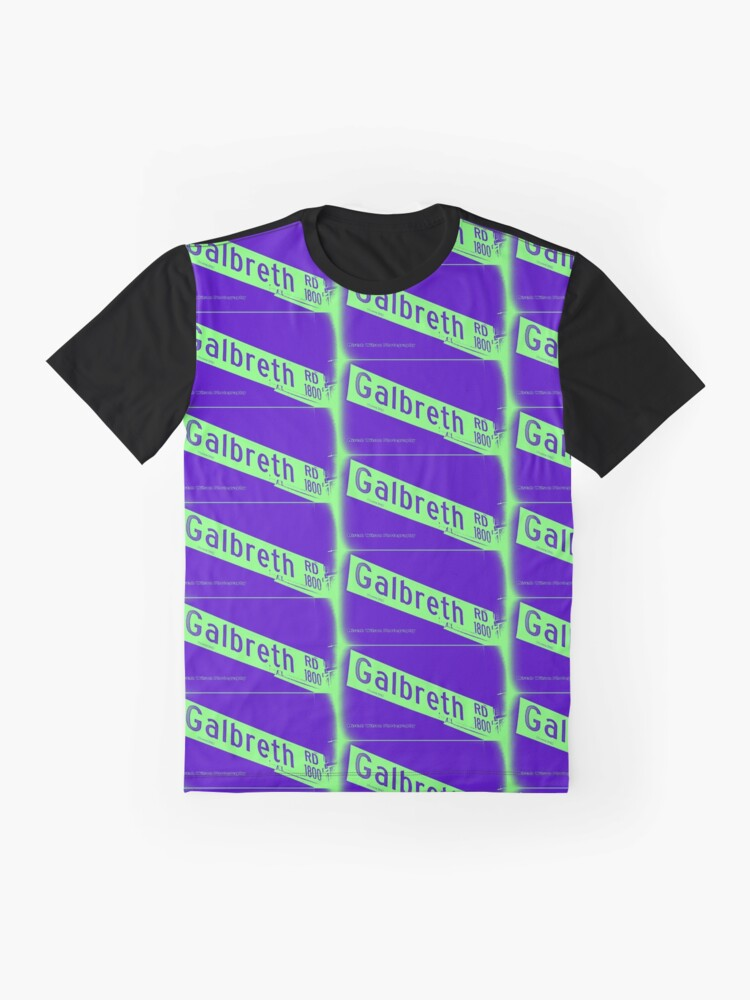 Alternate view of Galbreth Road, Pasadena, CA by MWP Graphic T-Shirt