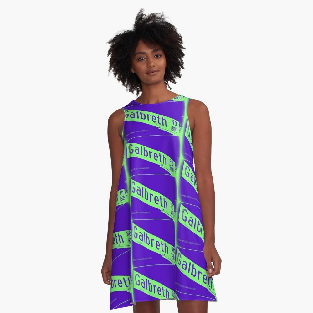 Galbreth Road, Pasadena, CA by MWP A-Line Dress