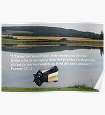 Ps. 23:1,2 fr2 Poster