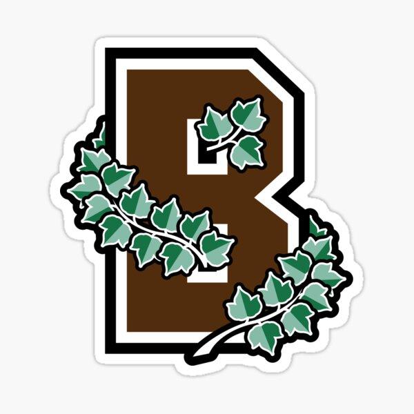 Brown Ivy Sticker
