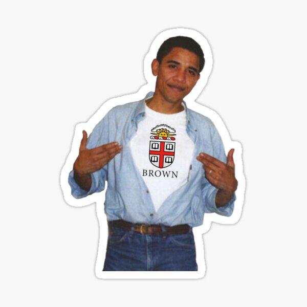 Obama Brown Sticker