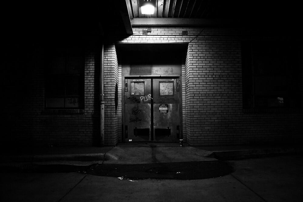 Bus Depot Door by Justin Copelin