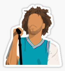 J Cole Sticker