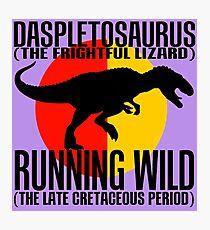 Daspletosaurus Photographic Print