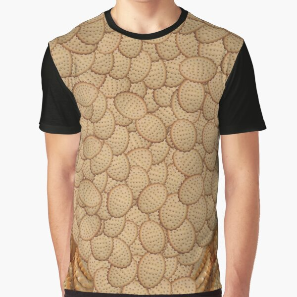 Chicken Crimpy Shapes T-Shirt Graphic T-Shirt