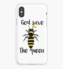 God Save the Queen Bees iPhone Case/Skin