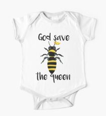God Save the Queen Bees Kids Clothes